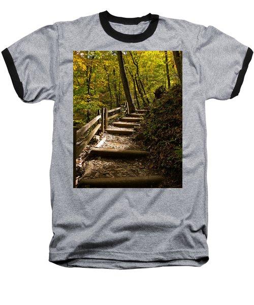 Sunlit Trail Baseball T-Shirt