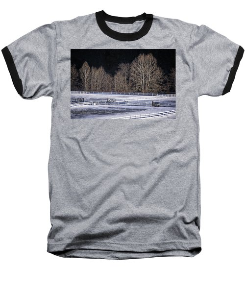 Sunlit Trees Baseball T-Shirt