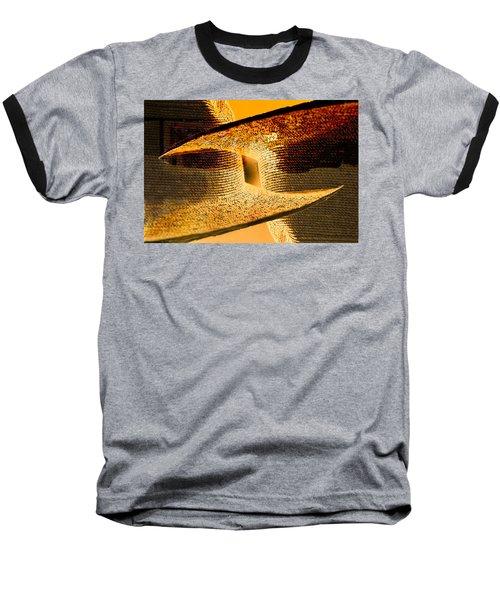 Sunlit Yellow Baseball T-Shirt