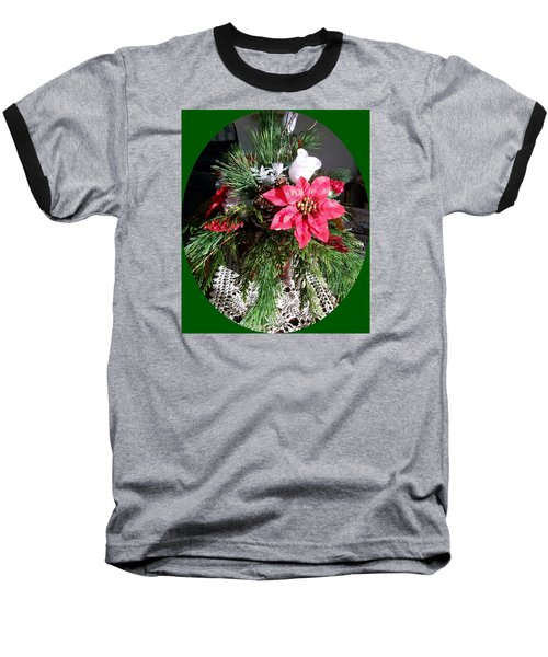 Baseball T-Shirt featuring the photograph Sunlit Centerpiece by Sharon Duguay