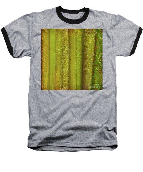 Sunlit Fall Forest Baseball T-Shirt