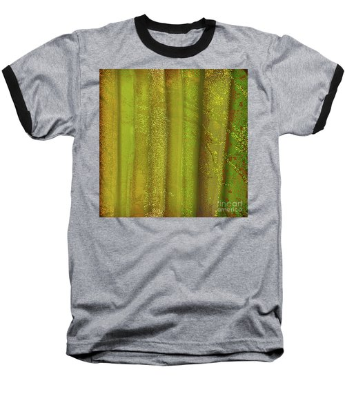 Sunlit Fall Forest Baseball T-Shirt