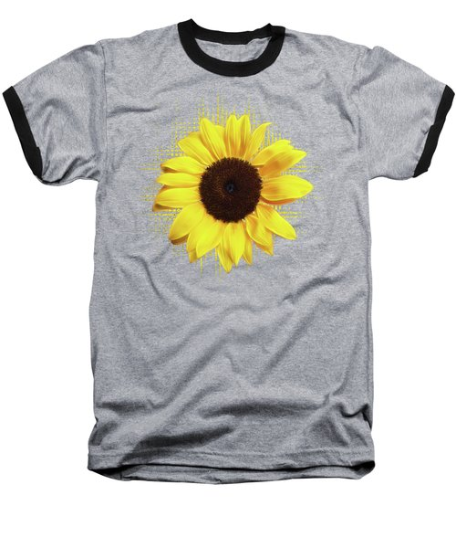 Sunlover Baseball T-Shirt by Gill Billington