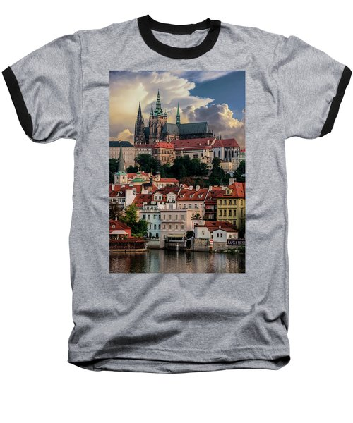 Sunny Afternoon In Prague Baseball T-Shirt