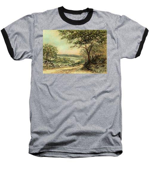 Sunny Bushveld Baseball T-Shirt by Heidi Kriel
