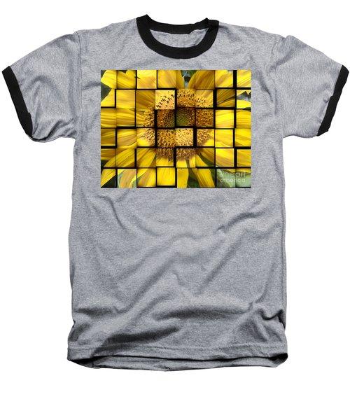Sunny Composition Baseball T-Shirt
