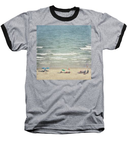 Sunny Day At North Myrtle Beach Baseball T-Shirt