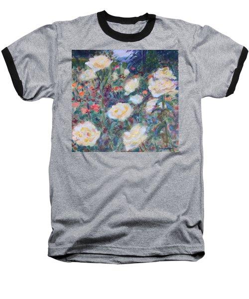 Sunny Day At The Rose Garden Baseball T-Shirt