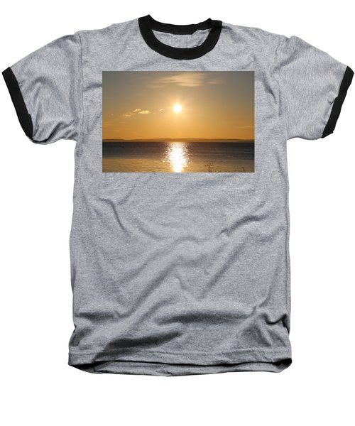 Sunny Day By The Oslo Fjords.  Baseball T-Shirt