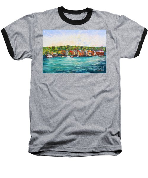 Summer In Skaneateles Ny Baseball T-Shirt