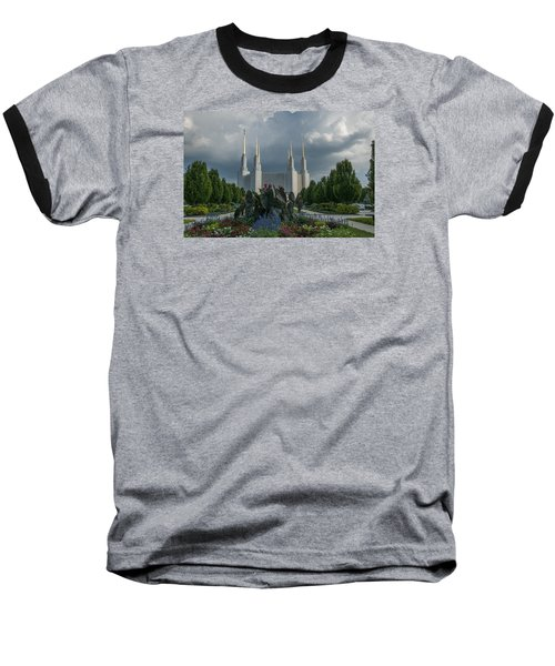 Sunny Day With Clouds Baseball T-Shirt