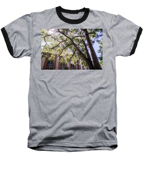 Baseball T-Shirt featuring the photograph Sunny Days At Uga by Parker Cunningham