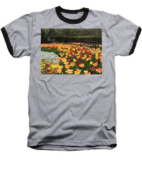 Baseball T-Shirt featuring the photograph Sunny Days by Teresa Schomig