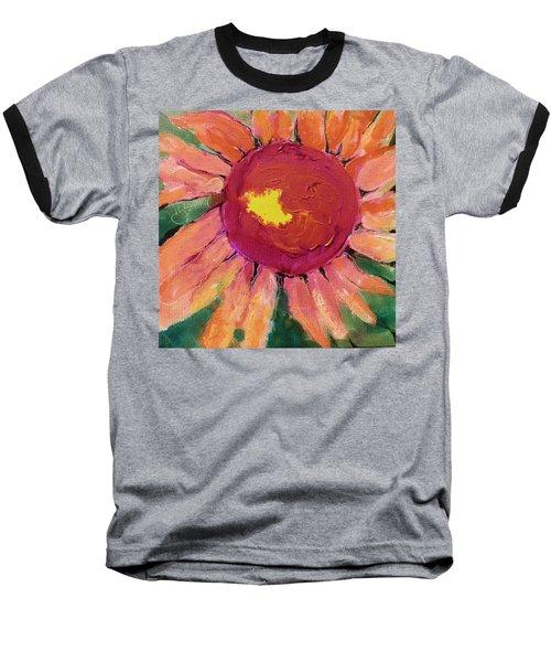 Sunny Flower Baseball T-Shirt