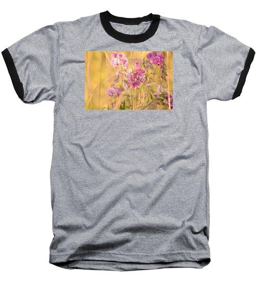 Sunny Garden 3 Baseball T-Shirt