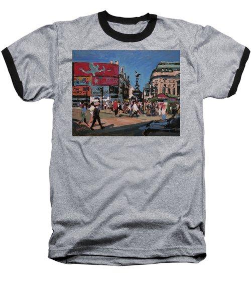 Sunny Piccadilly Baseball T-Shirt