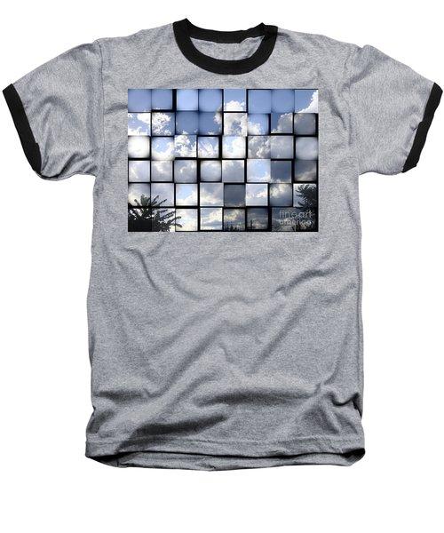 Baseball T-Shirt featuring the photograph Sunny Sky by Christina Verdgeline