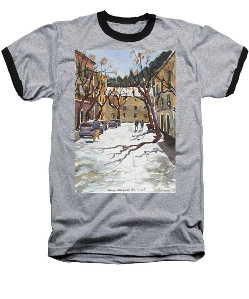 Sunny Street, Valledemossa Baseball T-Shirt