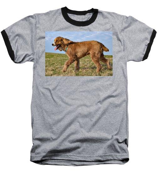 Sunny Stroll Baseball T-Shirt