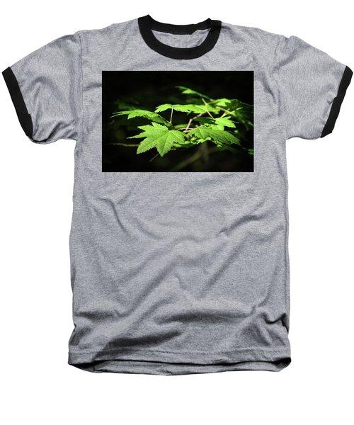 Sunny Summer Maple Baseball T-Shirt