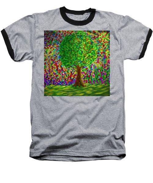 Sunny Tree Baseball T-Shirt