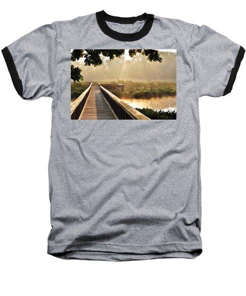 Sunny Walk Baseball T-Shirt