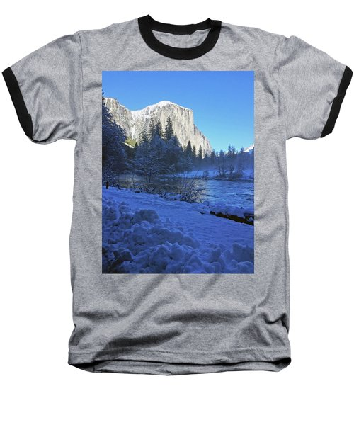 Baseball T-Shirt featuring the photograph Sunny Winter Day 01 13 17 by Walter Fahmy