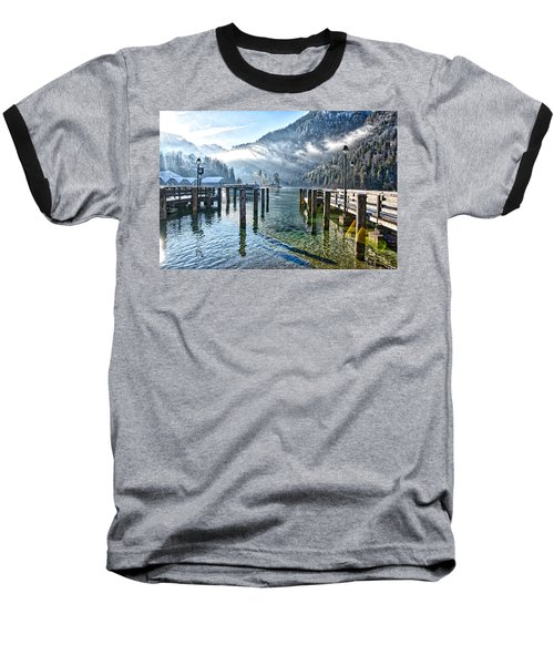 Sunny Winter Morning Baseball T-Shirt