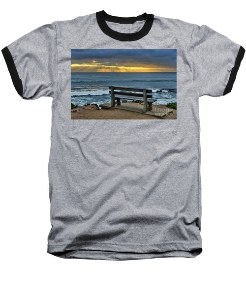 Sunrays On The Horizon Baseball T-Shirt