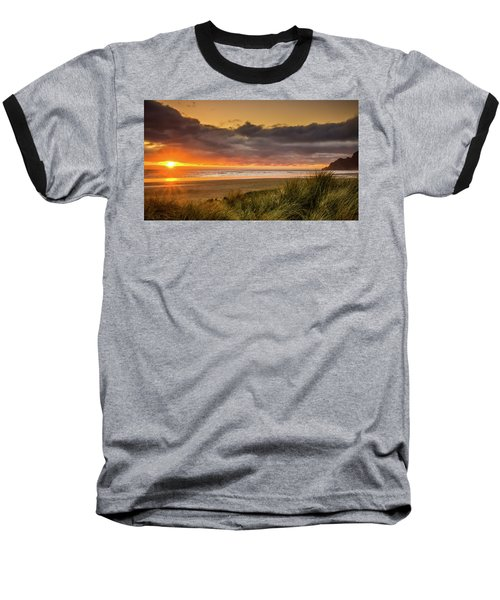 Sunrays Over Manzanita Baseball T-Shirt