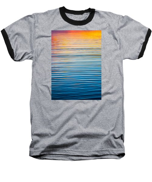 Sunrise Abstract  Baseball T-Shirt