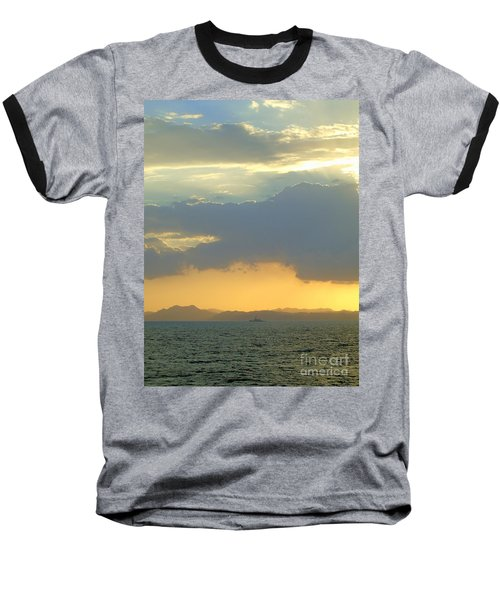 Sunrise After The Typhoon Baseball T-Shirt