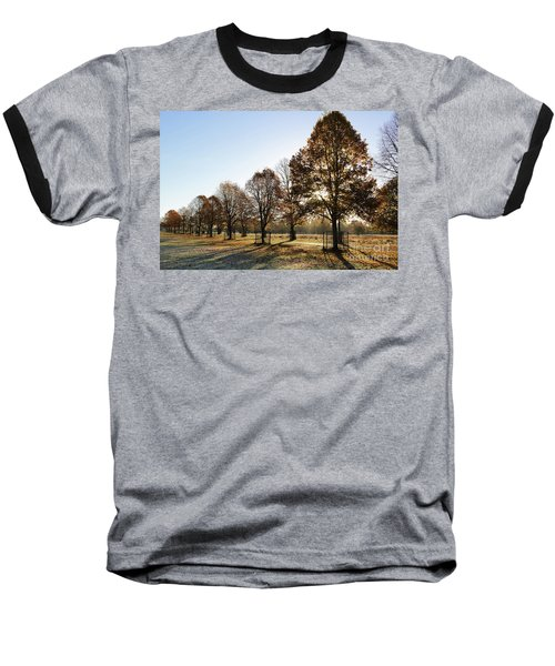 Sunrise And Long Shadows Baseball T-Shirt