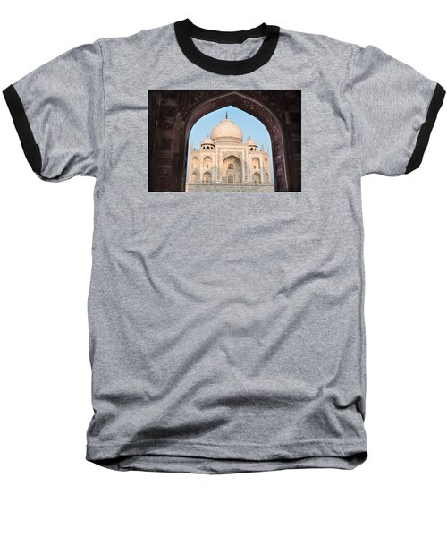 Sunrise Arches Of The Taj Mahal Baseball T-Shirt