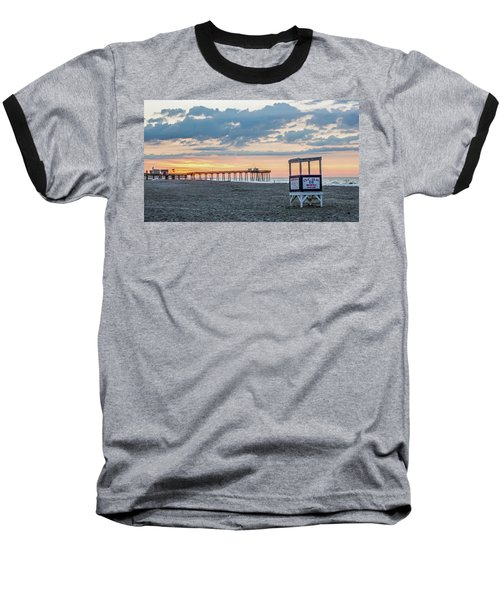 Sunrise At 16th Street Ocean City New Jersey Baseball T-Shirt