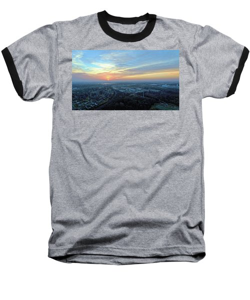 Sunrise At 400 Agl Baseball T-Shirt by Dave Luebbert