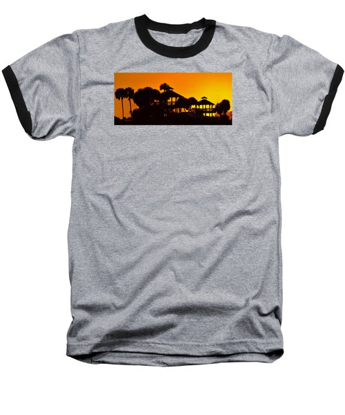 Sunrise At Barefoot Park Baseball T-Shirt by Don Durfee