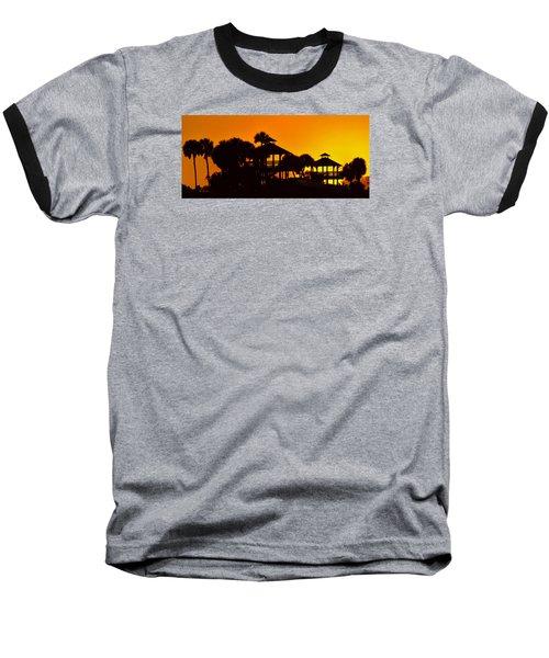 Sunrise At Barefoot Park Baseball T-Shirt
