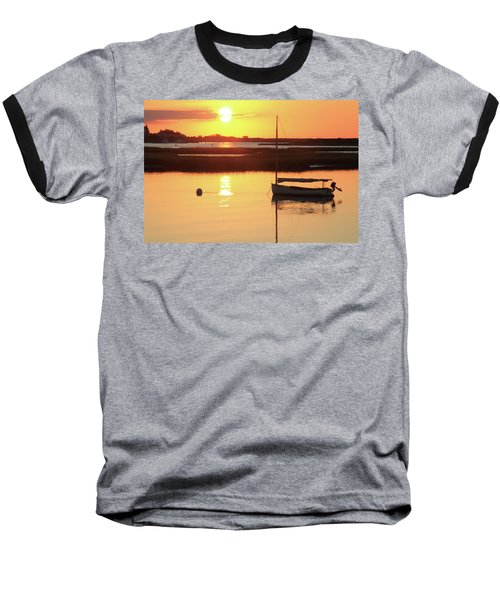 Sunrise At Bass River Baseball T-Shirt