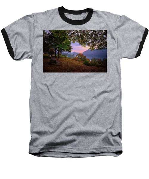 Sunrise At River Rd  Baseball T-Shirt