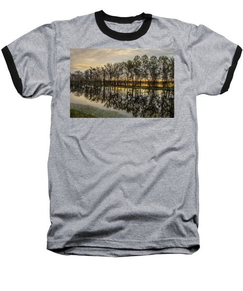 Baseball T-Shirt featuring the photograph Sunrise At Brazos by James Woody