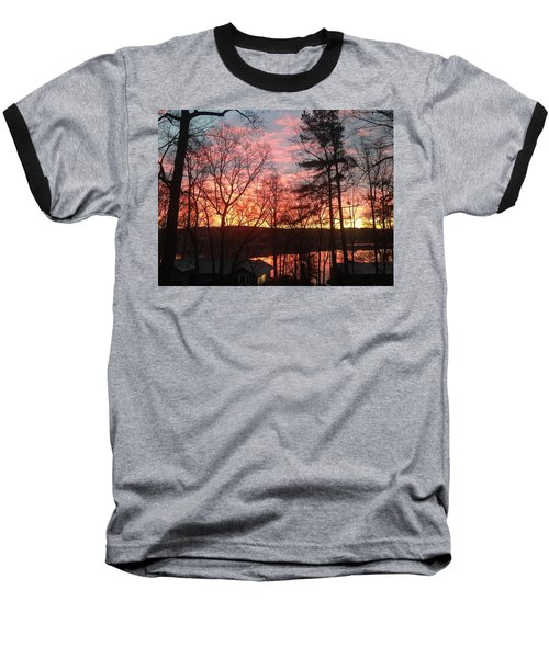 Sunrise At Carolina Trace Baseball T-Shirt