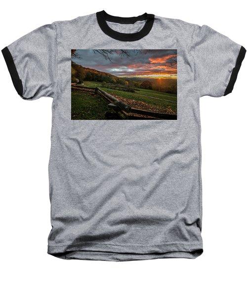 Sunrise At Cone House Baseball T-Shirt