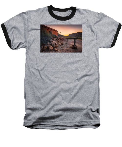 Sunrise At Contrabando Baseball T-Shirt by Allen Biedrzycki
