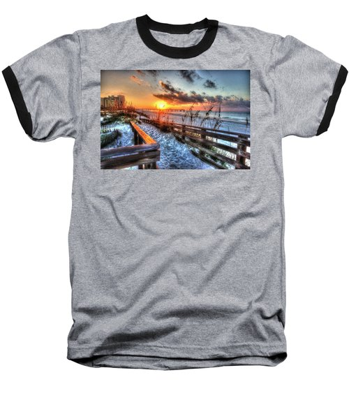 Sunrise At Cotton Bayou  Baseball T-Shirt