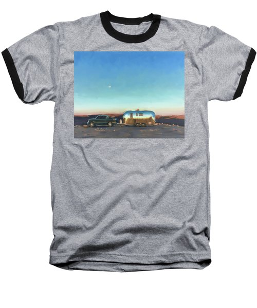 Sunrise At Gooseneck Canyon. Baseball T-Shirt