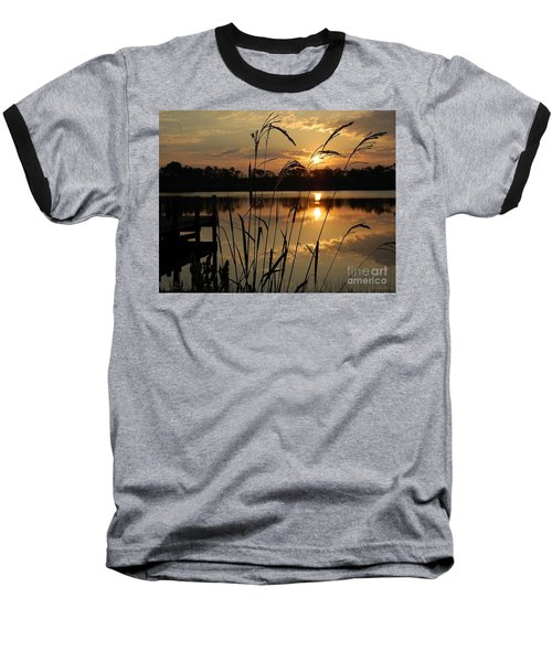 Sunrise At Grayton Beach Baseball T-Shirt