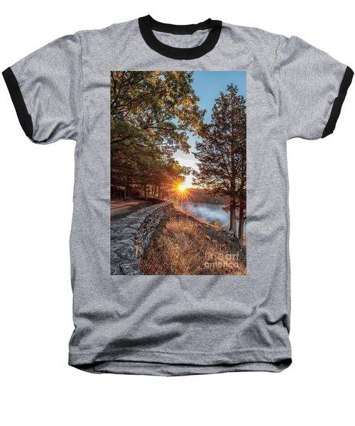 Sunrise At Great Bend Baseball T-Shirt