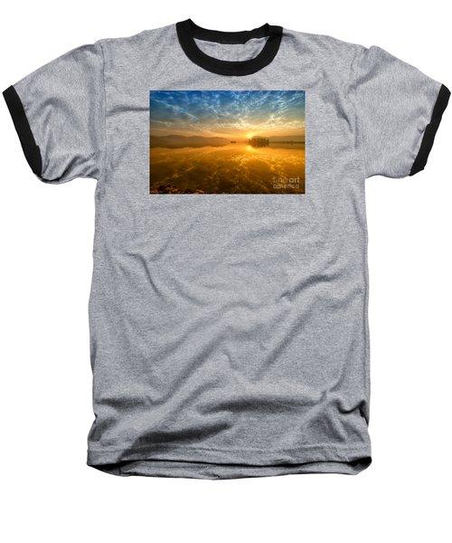 Sunrise At Jal Mahal Baseball T-Shirt