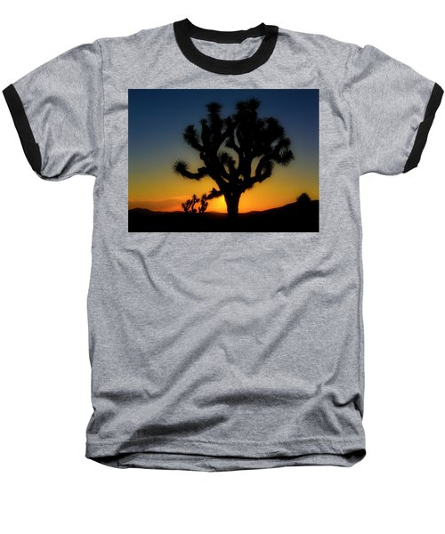 Sunrise At Joshua Baseball T-Shirt
